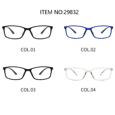 Weight Cheap Rectangle TR90 Frame Anti Blue Light Glasses
