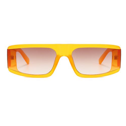 Fashion 2020 Big Wide Frame Sun glasses Men Women Flat Top Shades Sunglasses