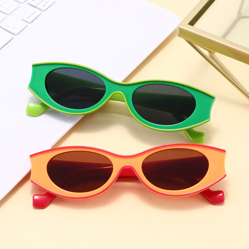 Fashion 2020 Small Retro Oval Sun glasses Women UV400 Sunglasses