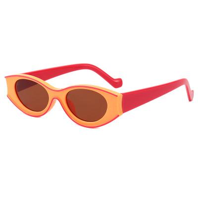 Fashion 2020 Small Retro Oval Sun glasses Women UV400 Sunglasses