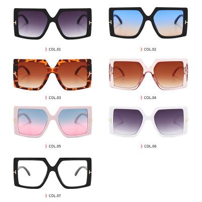 Fashion Big Frame Sun glasses Square Oversized Shades Sunglasses