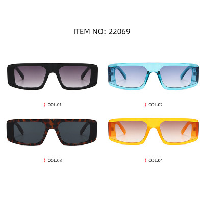Fashion 2020 Big Wide Frame Sun glasses Men Women Flat Top Shades Sunglasses