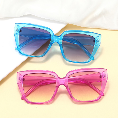 Fashion Big Frame 2020 Women Brand Designer Shades Cat Eye Sunglasses