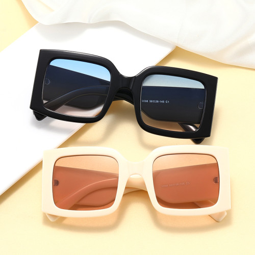 Fashion Big Frame Sun glasses Square Oversized Shades Sunglasses