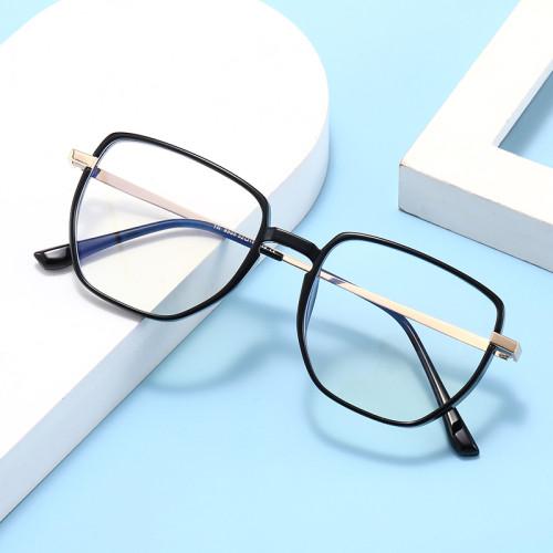Fashion Square Oversize Blue Light Blocking Glasses