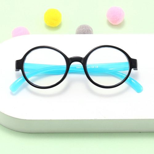 Children's wholesale cheap round antIi blue light glasses