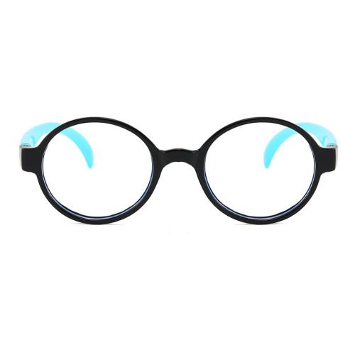 Children's wholesale cheap round antIi blue light glasses