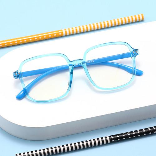 Blue Light Glasses for Kids Light Weight Durable Cheap TR90 Frame Eyeglasses