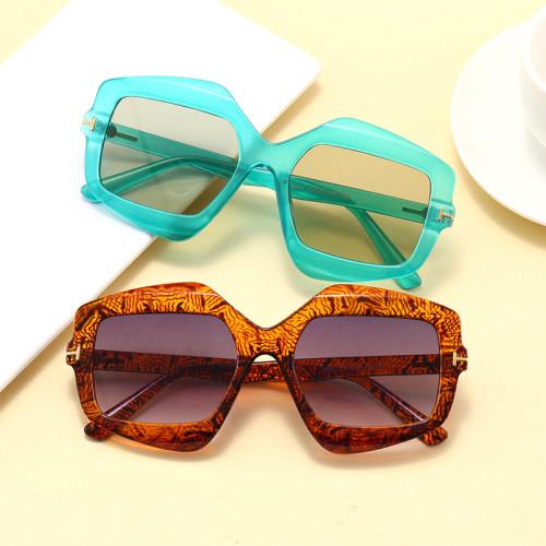 Fashion 2020 Men Women Oversized Square UV400 Shades Sunglasses