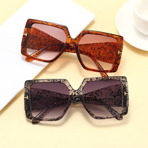 Fashion UV400 Sun glasses 2021 Big Frame Oversized Square Shades Sunglasses