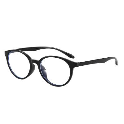 Retro Round TR90 Frame Eyeglasses Durable Blue Light Blocking Glasses