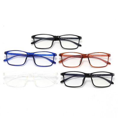 Light Weight Cheap Rectangle TR90 Frame Anti Blue Light Glasses