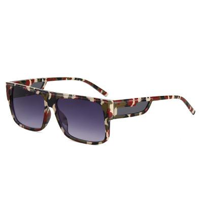 Flat Top 2021 New Rectangle Shades Men Women Sunglasses
