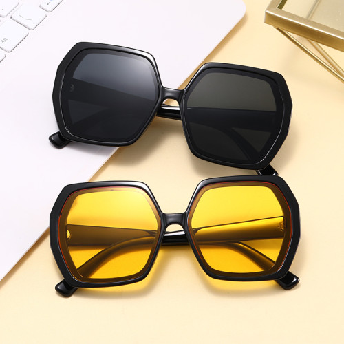 Fashion Gradient Sun glasses Men Women Vintage Square Shades Sunglasses