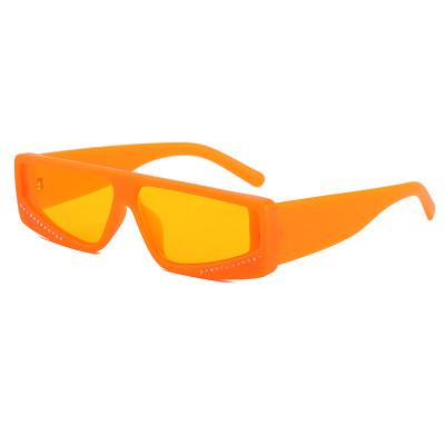 Fashion Ladies Sun glasses Vintage Small Rectangle Sunglasses