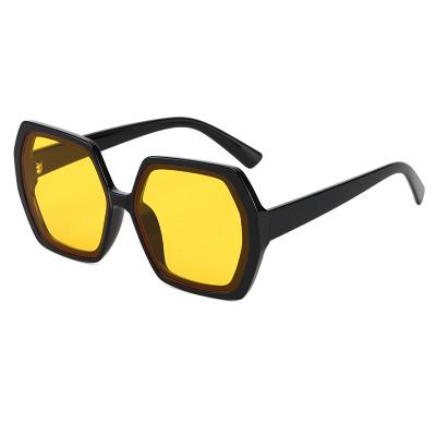 Fashion Gradient Sun glasses Men Women Vintage Square Shades Sunglasses