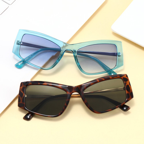 Fashion Retro Vintage Sun glasses 2021 New Plastic Small Rectangular Sunglasses
