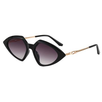 Fashion Cateye Sun glasses Retro Vintage Women Triangle Sunglasses