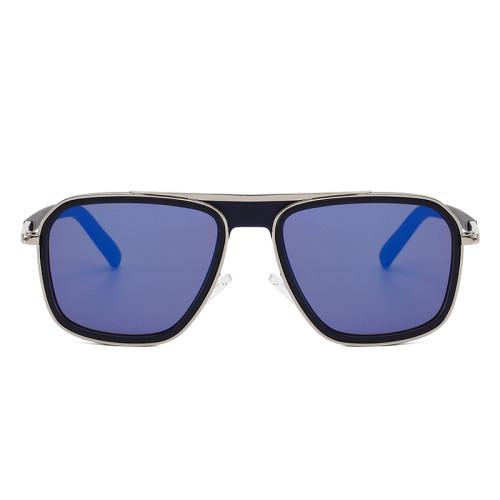 Men Women Square Sunglasses Metal Frame Outdoor Sunglasses