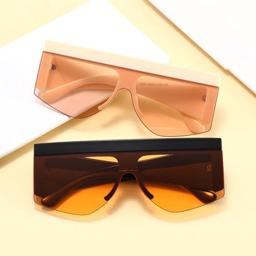 Fashion 2021 Half Frame Sun glasses UV400 Women Men Sunglasses