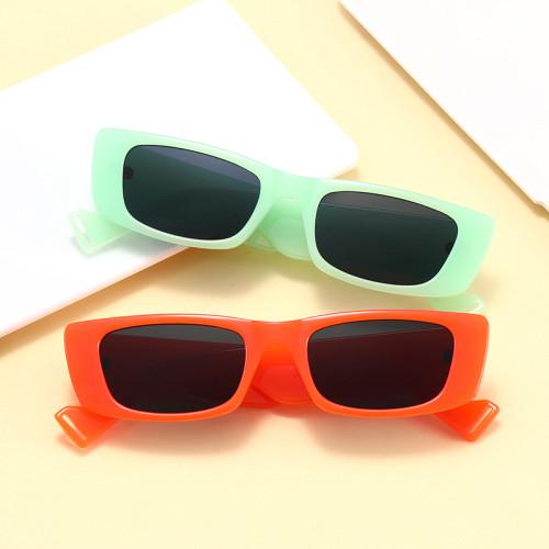 Retro Vintage 2021 Cheap Rectangle Men Women Fashion Trendy Sunglasses