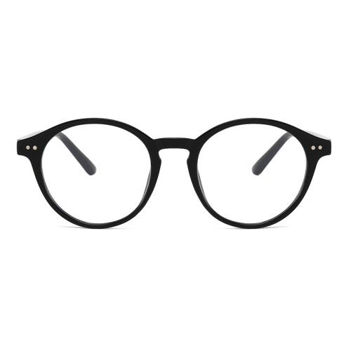 Retro Vintage Round Blue Light Blocking Glasses