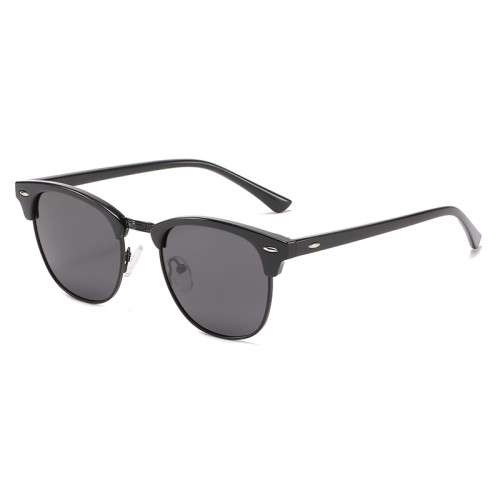 Superhot Eyewear 14661 Polarized Sunglasses for Men and Women Semi-Rimless Frame Driving Sun glasses 100% UV Blocking