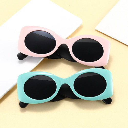 Fashion 2021 Small Retro Oval Sun glasses Women UV400 Sunglasses