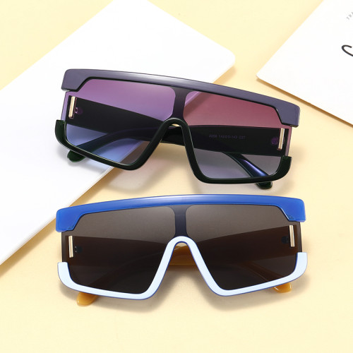 Fashion 2021 Big Square Oversized Shades Sunglasses