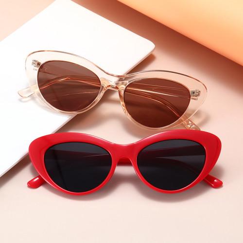 Fashion 2021 Cheap Retro Plastic Women Cat Eye Sunglasses