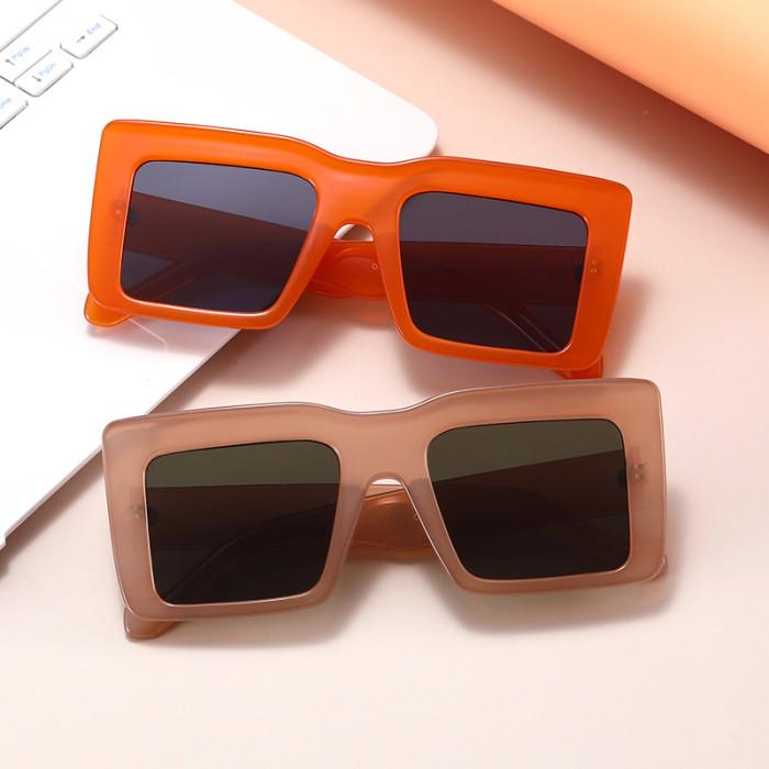 Fashion Big Frame Square Oversized Shades Sunglasses