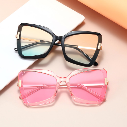 Fashion 2021 Big Frame Oversized Shades Sunglasses
