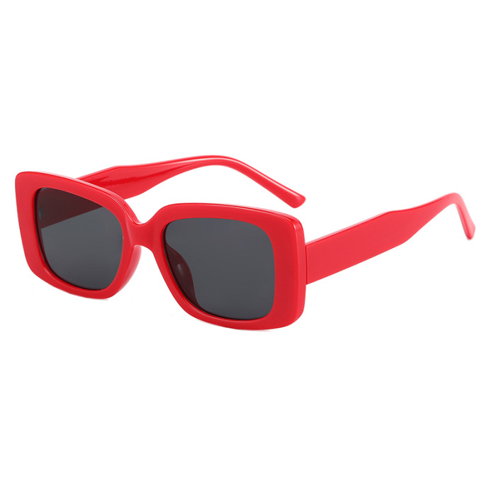 Fashion 2021 Men Women Small Rectangle Sunglasses