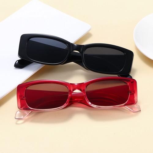 Retro Vintage Fashion 2021 Small Rectangular Sunglasses