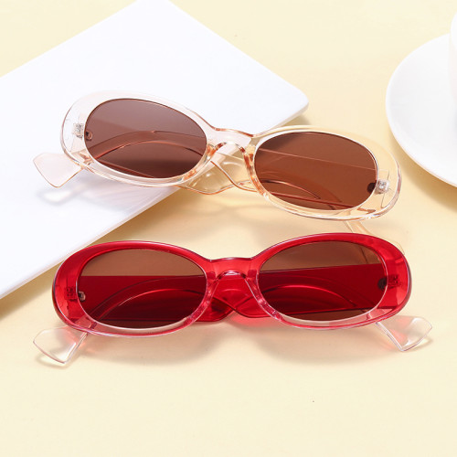 Retro Vintage Small Oval Sunglasses