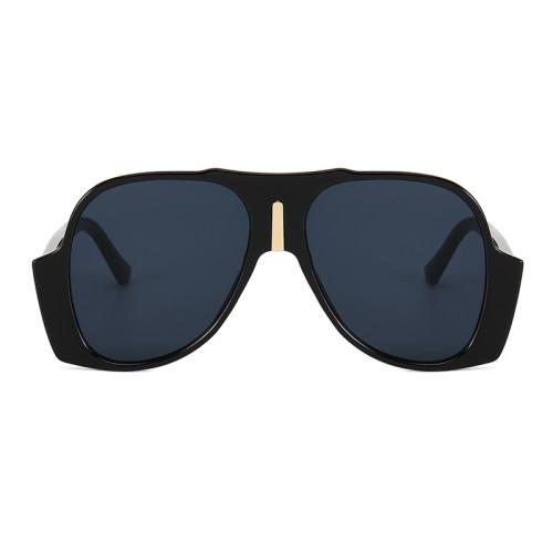 Fashion 2021 Big Frame Oversized UV400 Women Sunglasses