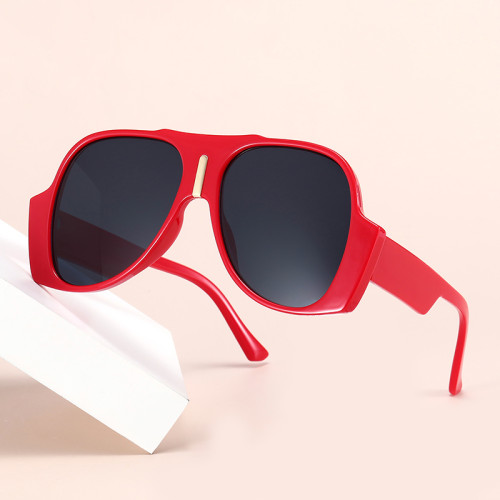 Fashion 2021 Big Frame Oversized UV400 Women Sunglasses