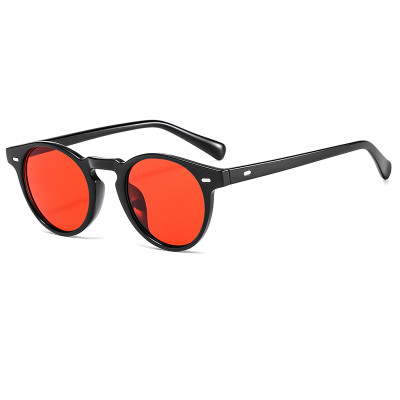 Retro Vintage Small Oval 2021 Fashion Shades Sunglasses