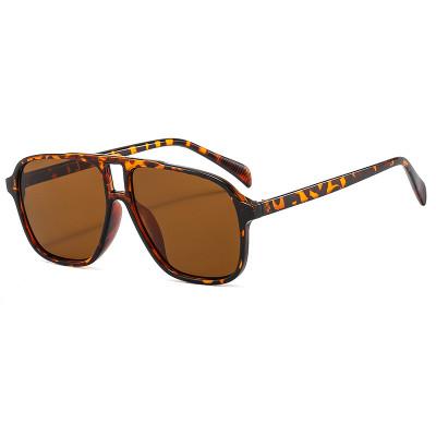 Fashion Big Frame UV400 Trendy Oversized Men Women's Sunglasses