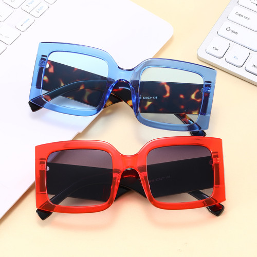 2021 Big Frame Oversized Square Shades Sunglasses