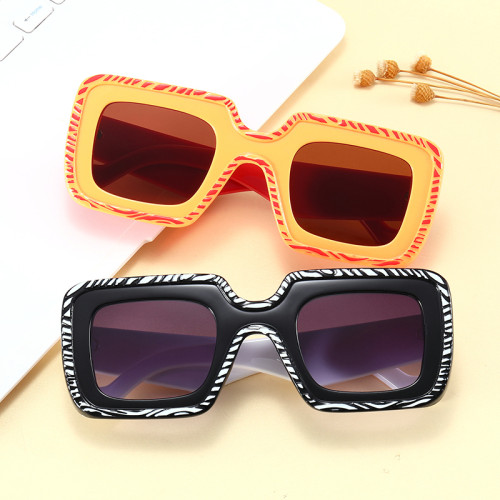 Fashion Big Frame Square Oversized Shades Sunglasses