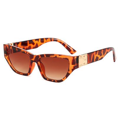 Fashion Vintage Luxury 2021 Polygon Mirrored Lens Sunglasses