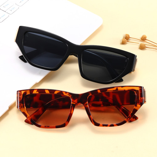 Fashion Vintage Luxury 2021 Polygon Mirrored Lens Sunglasses