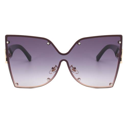 Fashion 2021 Oversized Butterfly Women Sunglasses