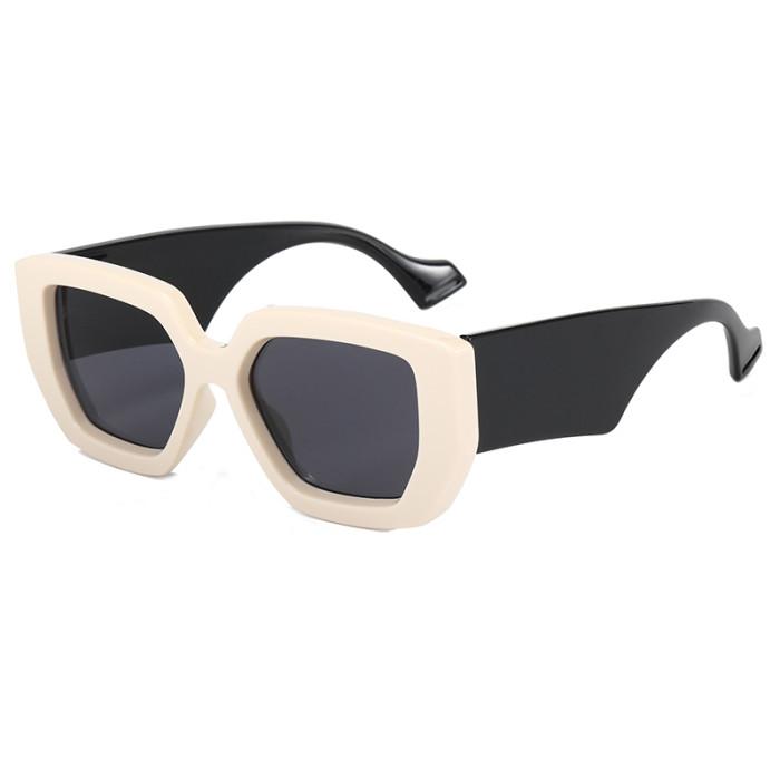 Solid Thick Men Women Sunglasses