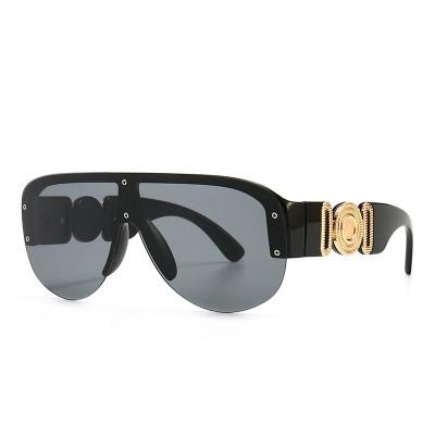 One Piece Lens Shades Sunglasses