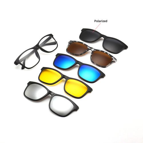 5 in 1 Clip On Glasses