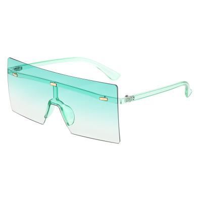 Tinted Rimless Sunglasses