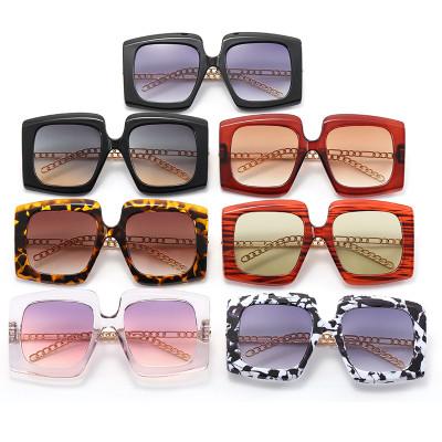 Big Frame Fashion Oversize Women Shades Sunglasses
