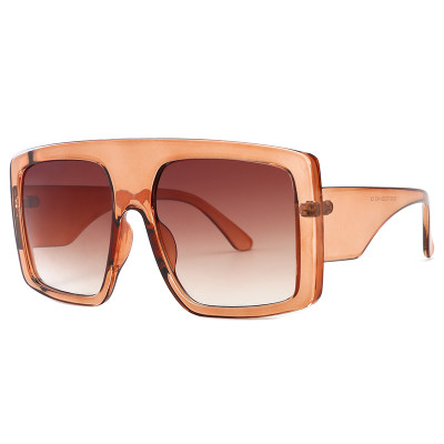 Large Frame Oversized Shield Shades Sunglasses